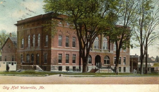 Taken from a postcard of City Hall
