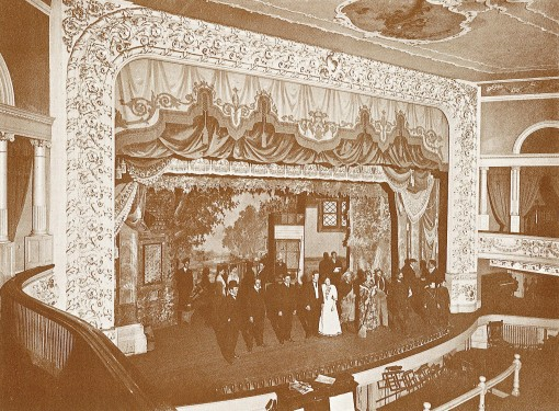 Interior of the Opera House, shortly after its opening, 1903-04.