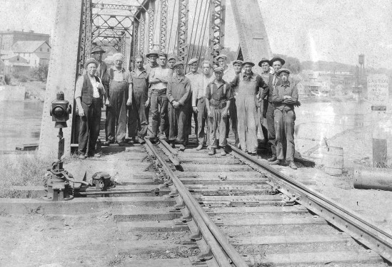 Public Works Crew, date of picture unknown