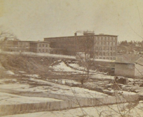 The Mill on the Kennebec River, approx. 1870-1875