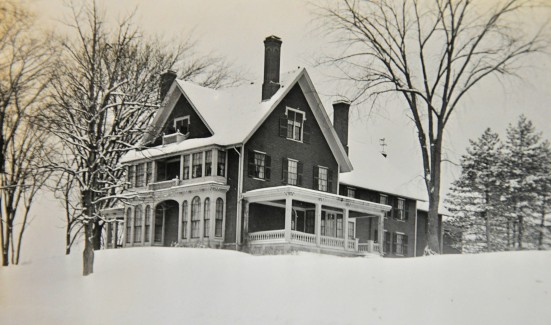 G F Terry House, 101 Silver Street (presently Blessed Sacrament home), late 1800's.