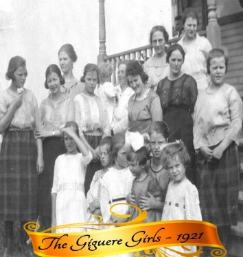 The Giguere Girls 1921