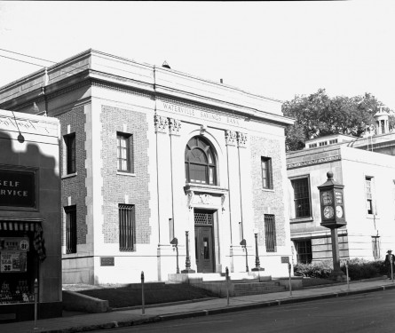 The Haines Theatre was once located across the street . FMI: www.watervillemainstreet.org/historicwa
