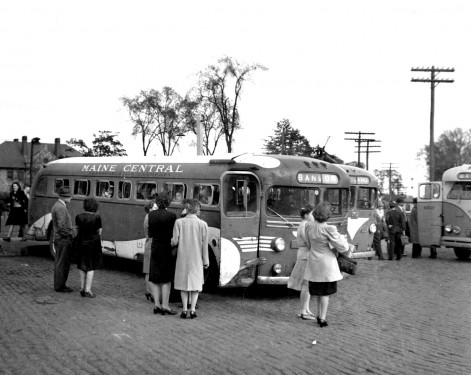 Maine Central buses