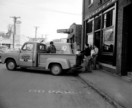 Morning Sentinel Delivery Truck
