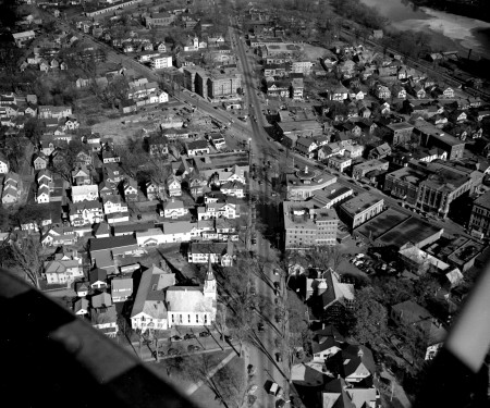 Aerial of the Old Post Office, 1950's