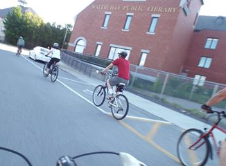 Thursday bike rides city of waterville maine for Bike rides in maine