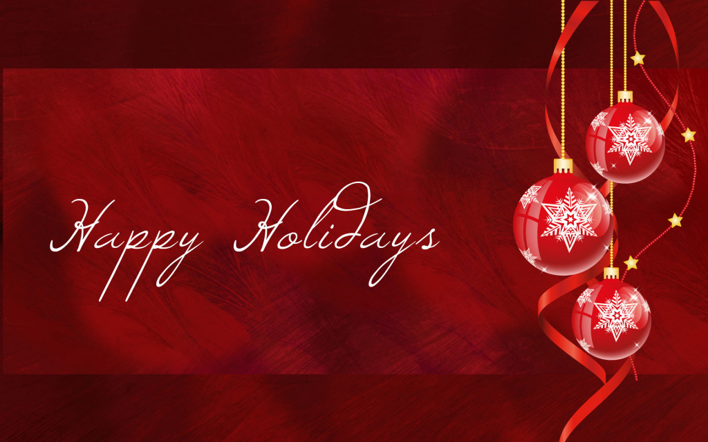 happy-holidays-white-red-ornaments-widescreen-wallpaper