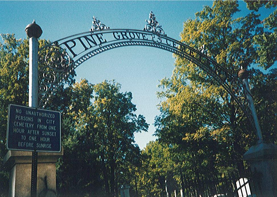 Cemetery Photos | Pine Grove Cemetery